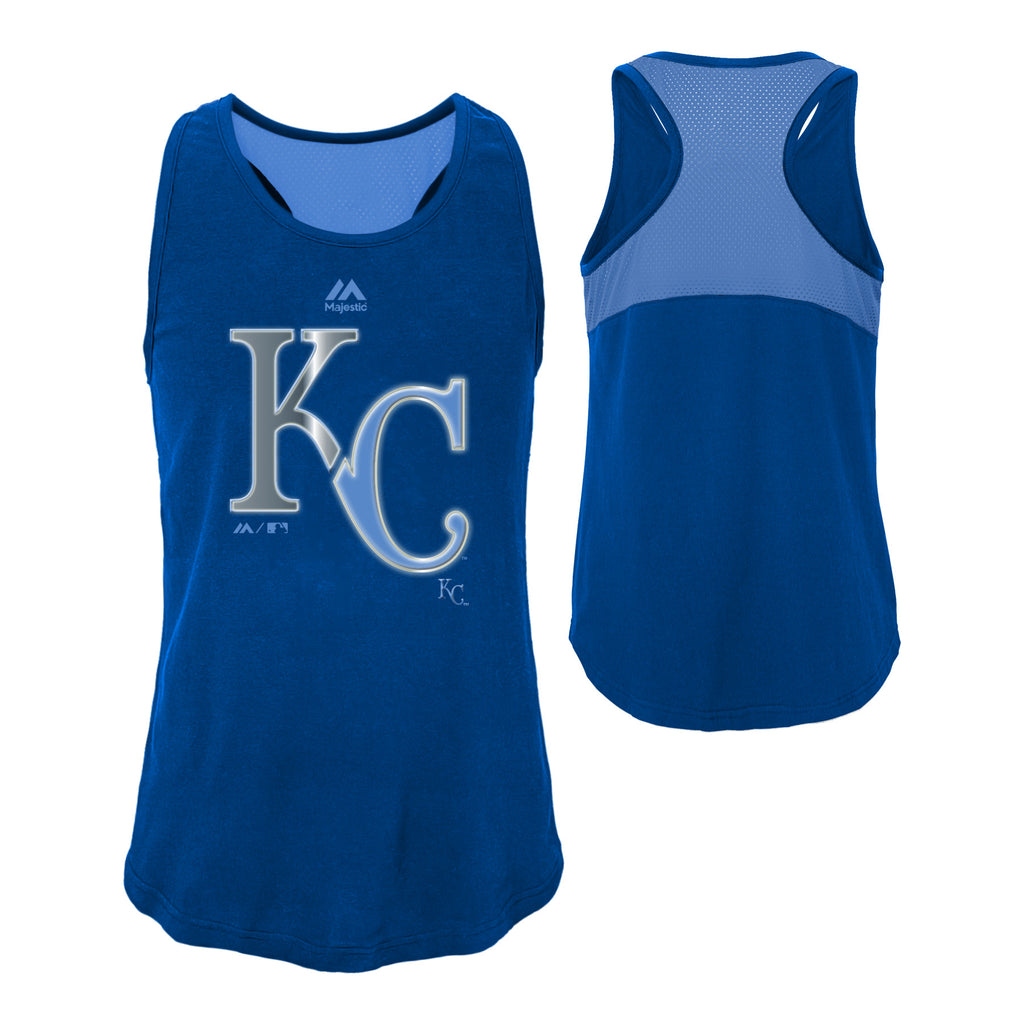 Kansas City Royals Girls Reflective Stadium Graphic Tank by Outerstuff