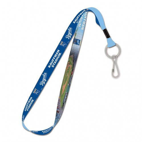 "Kansas City Royals Kauffman Stadium 1"" Lanyard by Wincraft"