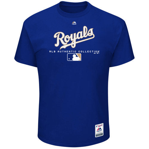 Kansas City Royals Team Drive Authentic Collection T-Shirt by Majestic