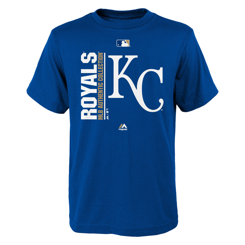 Kansas City Royals Boys Team Icon Short Sleeve T-Shirt