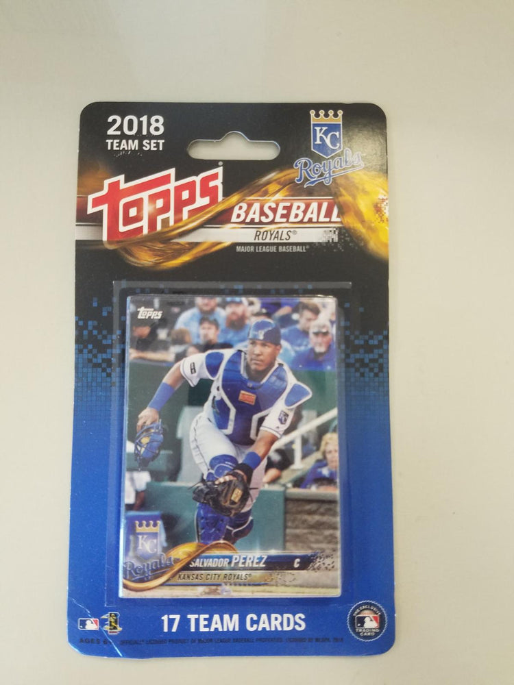 Kansas City Royals 2018 Topps Team Set