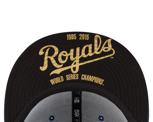 Kansas City Royals Title Trim Champions 59FIFTY Fitted Hat by New Era
