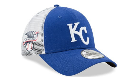 Kansas City Royals Trucker Duel Adjustable 9FORTY Hat by New Era