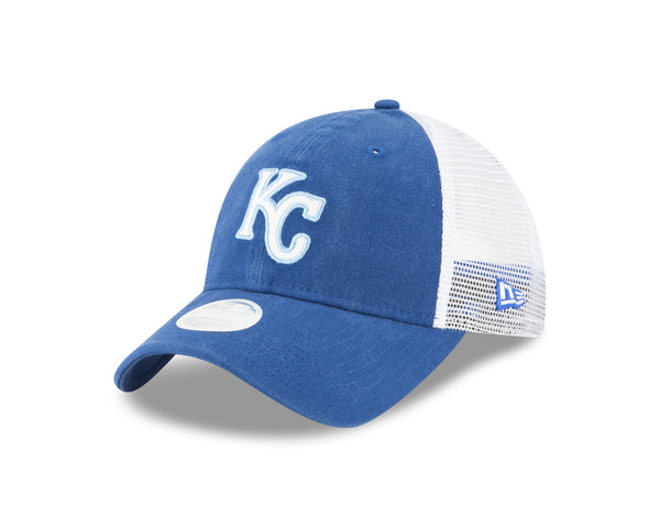 Kansas City Royals Ladies Trucker Shine Adjustable 9TWENTY Hat by New Era