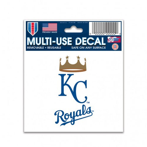 "Kansas City Royals Multi-Use Decal 3"" x 4"""