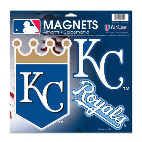 "Kansas City Royals Vinyl Magnet 11"" x 11"" by Wincraft"