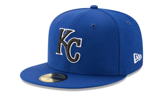 Kansas City Royals Wool Standard 2 59FIFTY Fitted Hat by New Era