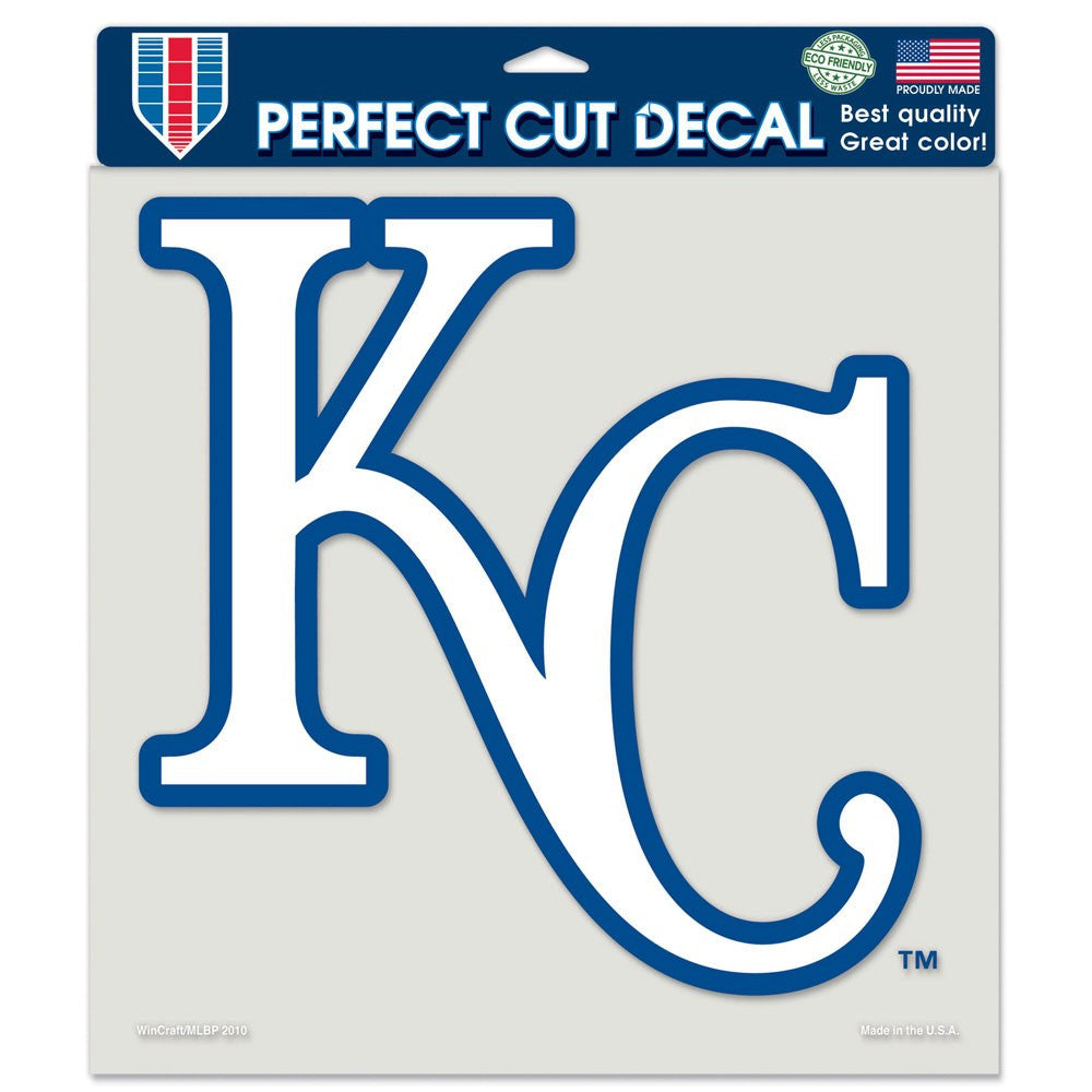 "Kansas City Royals Perfect Cut Color Decal 8"" x 8"""