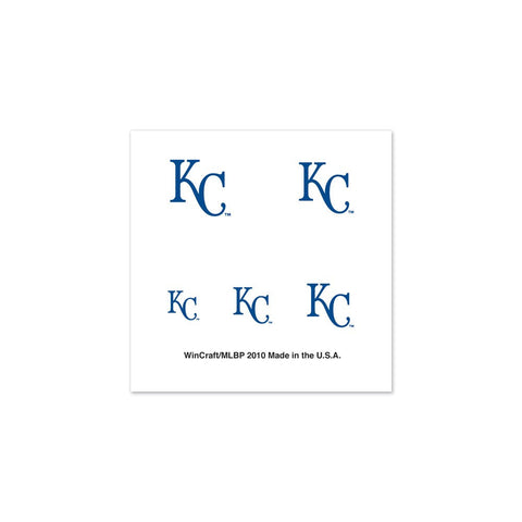 Kansas City Royals Fingernail Tattoos