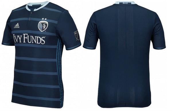 Sporting Kansas City 2016 Authentic 2nd Jersey by adidas