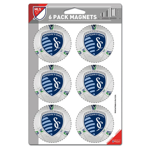 Sporting Kansas City Magnet 6 Pack by Wincraft