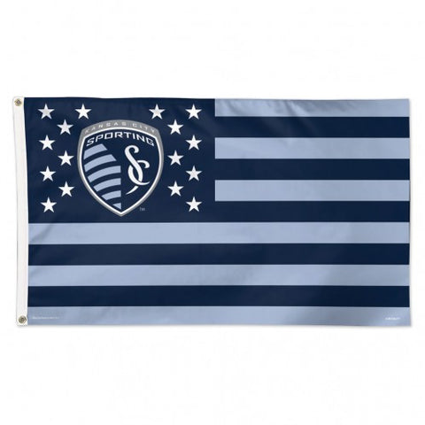 Sporting Kansas City 3'x5' Deluxe Stars & Stripes Flag by Wincraft