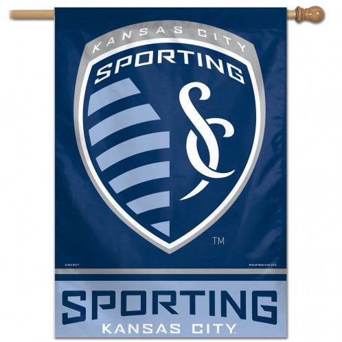 "Sporting Kansas City 28""x40"" Vertical Banner by Wincraft"