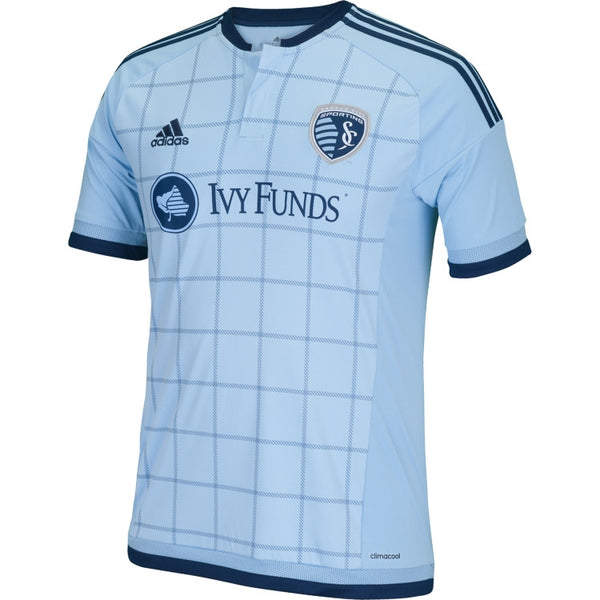 Youth Sporting Kansas City 2015 Primary Replica Jersey by Adidas