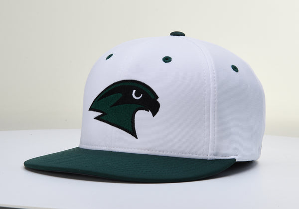 Staley Falcons PTS20 White/DkGreen Stretch Fit Hat by Richardson