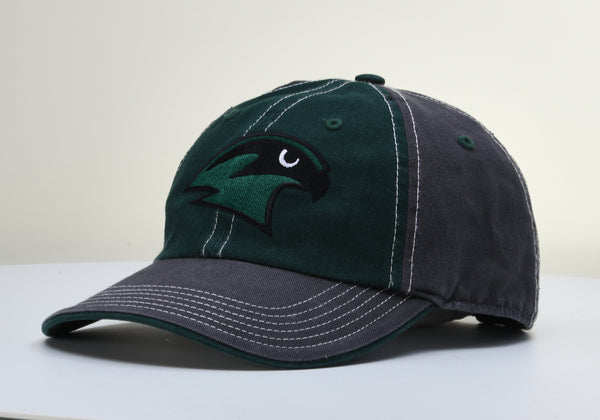 Staley Falcons 322 Adjustable Unstructured Dark Green/Charcoal Adjustable Hat by Richardson