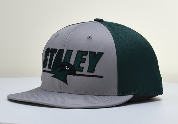 Staley Falcons PTS30 Green/Gray Stretch Fit Hat by Richardson