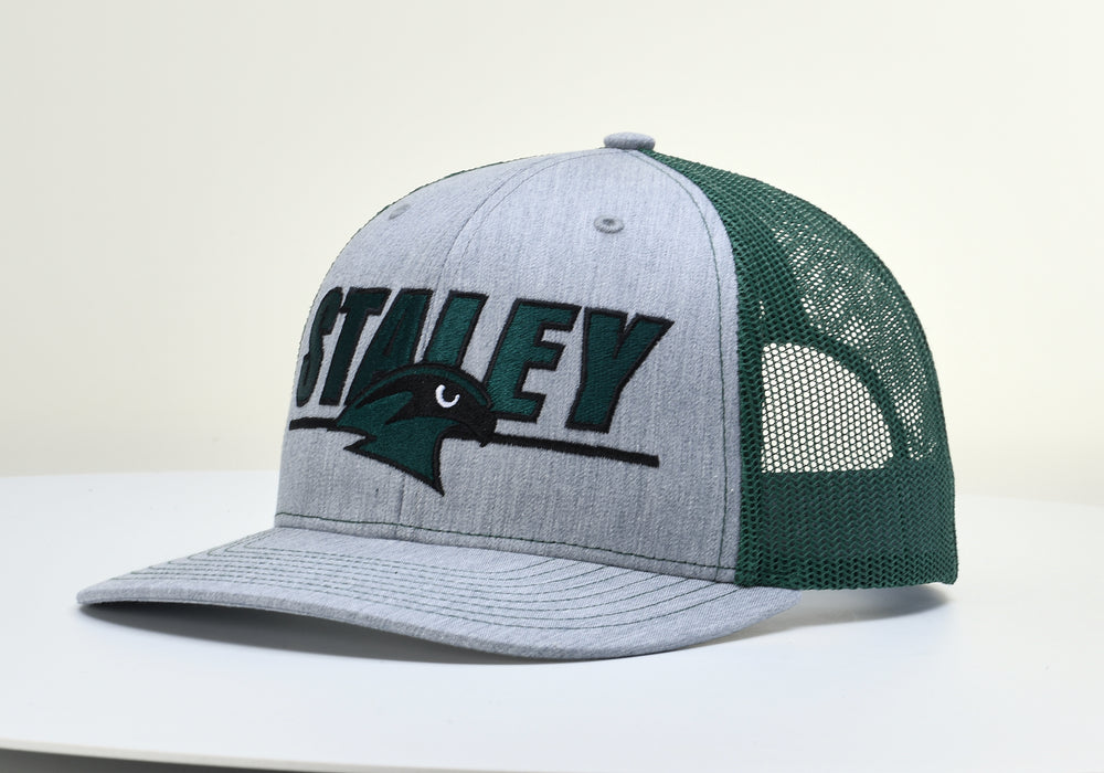 Staley Falcons 112 Dark Green/Gray Adjustable Hat by Richardson