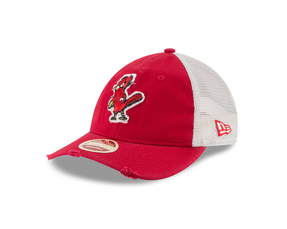 St. Louis Cardinals Frayed Twill Adjustable 9TWENTY Hat by New Era