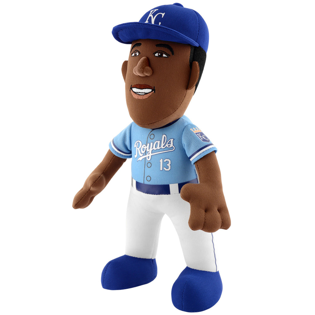 "Kansas City Royals Salvador Perez 10"" Plush Figurine by Bleacher Creatures"