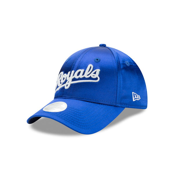 Kansas City Royals Ladies Satin Team Charmer Adjustable 9FORTY Hat by New Era