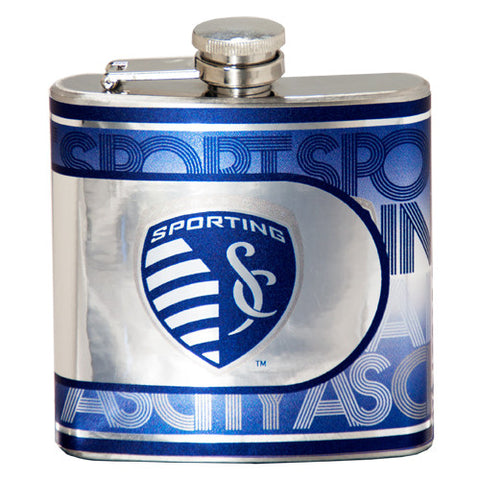 Sporting KC Stainless Steel Flask
