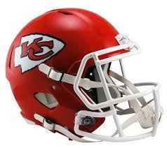 Kansas City Chiefs Full Size Speed Replica Helmet