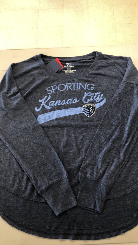 Sporting Kansas City Ladies KC Amaze Long Sleeve T-Shirt by Fanatics