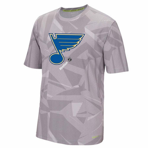 St. Louis Blues On Ice Collection TNT Performance Tee by Reebok