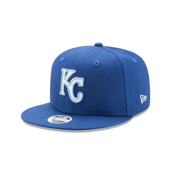 Kansas City Royals Ladies Team Glisten Adjustable 9FIFTY Snapback Hat by New Era