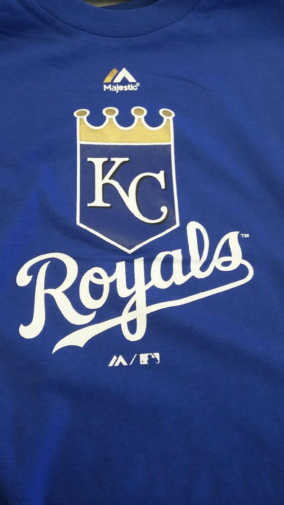Kansas City Royals Boys Team Logo T-Shirt by Majestic