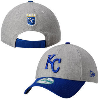 best service 2ef80 97774 Kansas City Royals The League Heather 9Forty Adjustable Hat by New Era