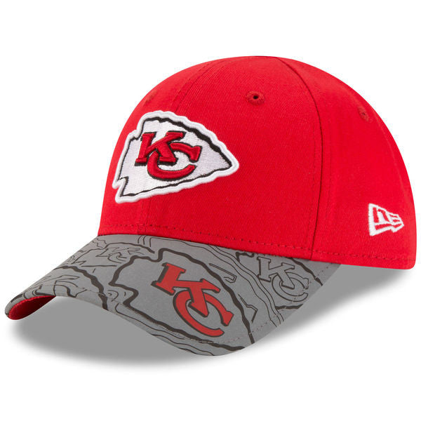 Kansas City Chiefs Toddler Reflect Fuse Adjustable Hat by New Era