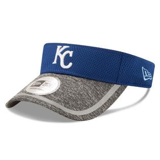 Kansas City Royals NE16 Adjustable Training Visor by New Era