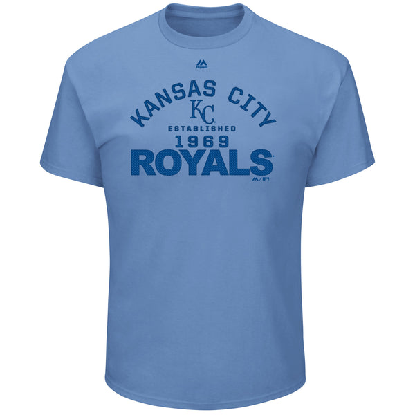 Kansas City Royals True Champion T-Shirt by Majestic