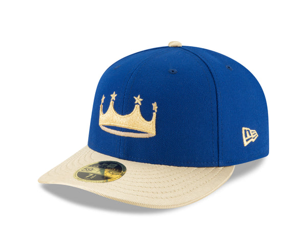 Kansas City Royals 2018 Turn Ahead The Clock Low Profile 59FIFTY Fitted Hat by New Era