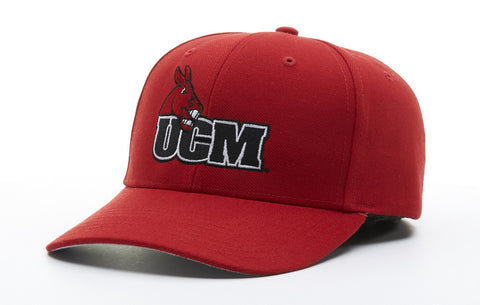 Central Missouri Mules Red 514 Velcro Adjustable Hat by Richardson