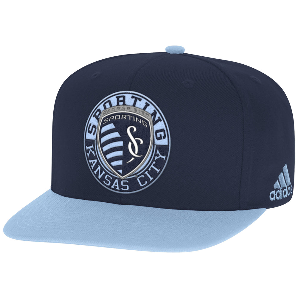 Sporting Kansas City 2 Tone Flatbrim Snapback Adjustable Hat by adidas