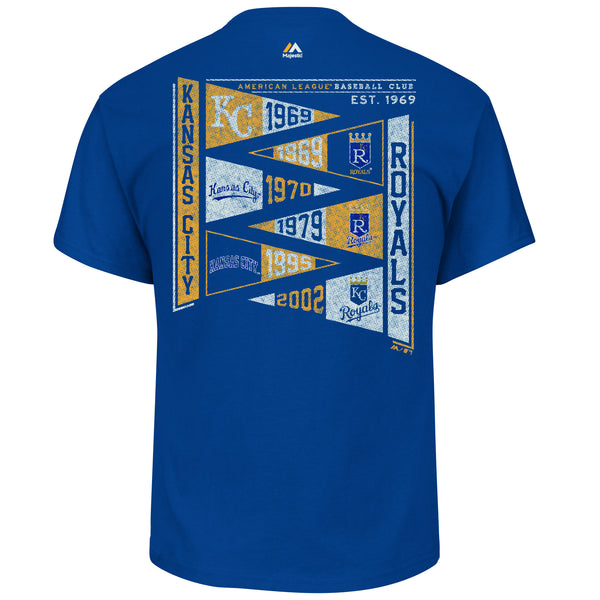 Kansas City Royals Wave The Pennant T-Shirt by Majestic