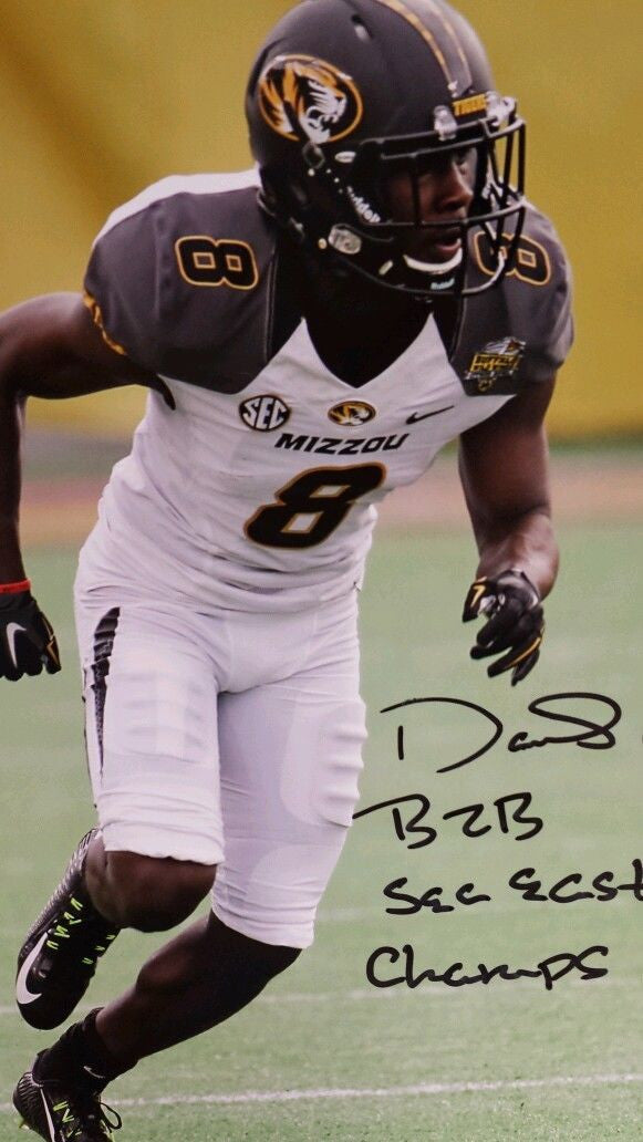 Missouri Tigers Darius White Signed Autographed 8x10 Photo COA