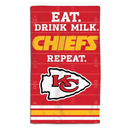 Kansas City Chiefs Littlest NFL Fan Burp Cloth