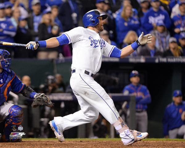 "Kansas City Royals Alex Gordon ""Home Run"" Glossy 16""x20"" Photo by Photo File"