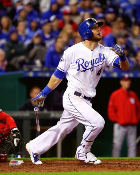 "Kansas City Royals Alex Gordon ""Wild Card"" Glossy 16""x20"" Photo by Photo File"