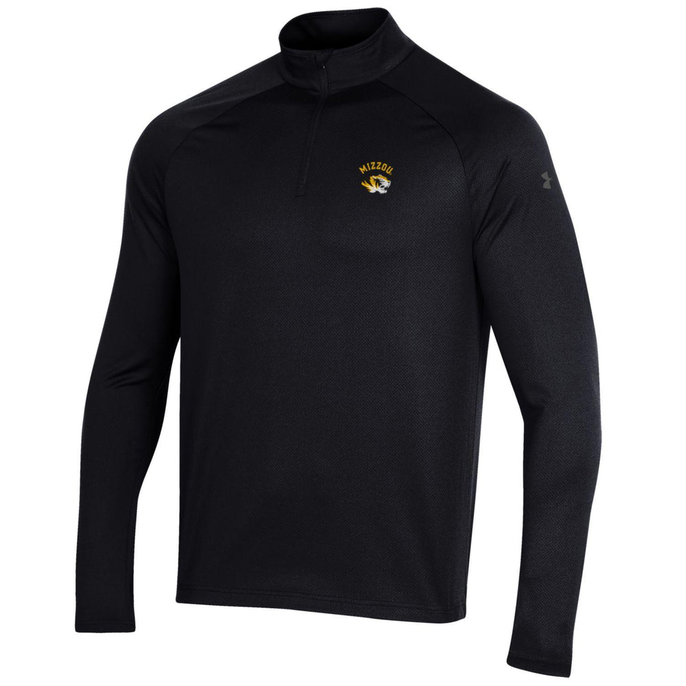 "Missouri Tigers ""Mizzou"" Black 1/4 Zip Long Sleeve by Under Armour"