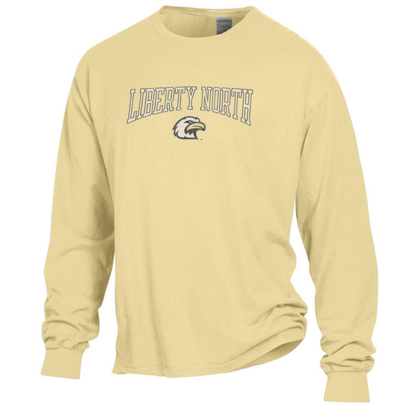 Liberty North Eagles Comfort Wash Gold Long Sleeve T-Shirt by Gear