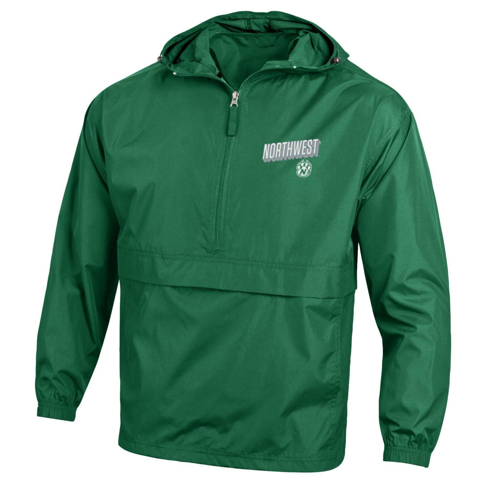 "Northwest Bearcats ""Green'' Windbreaker Packable Jacket by Champion"