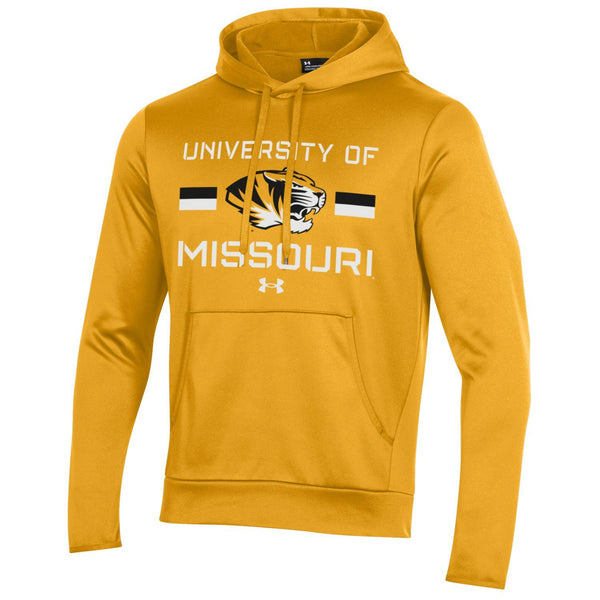 "Missouri Tigers ""Mizzou"" Gold Hoodie by Under Armour"