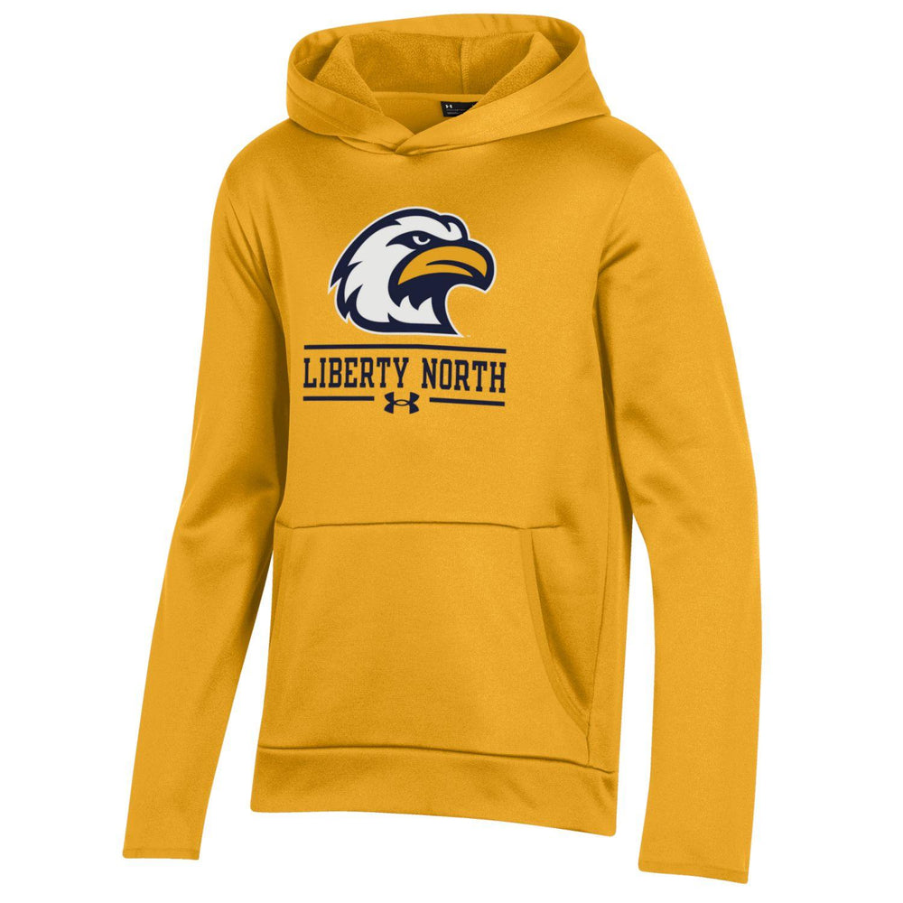 "Liberty North Eagles ""YOUTH"" Gold Fleece Hoodie by Under Armour"