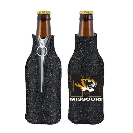 Missouri Tigers Bottle Suit Holder - Black Glitter