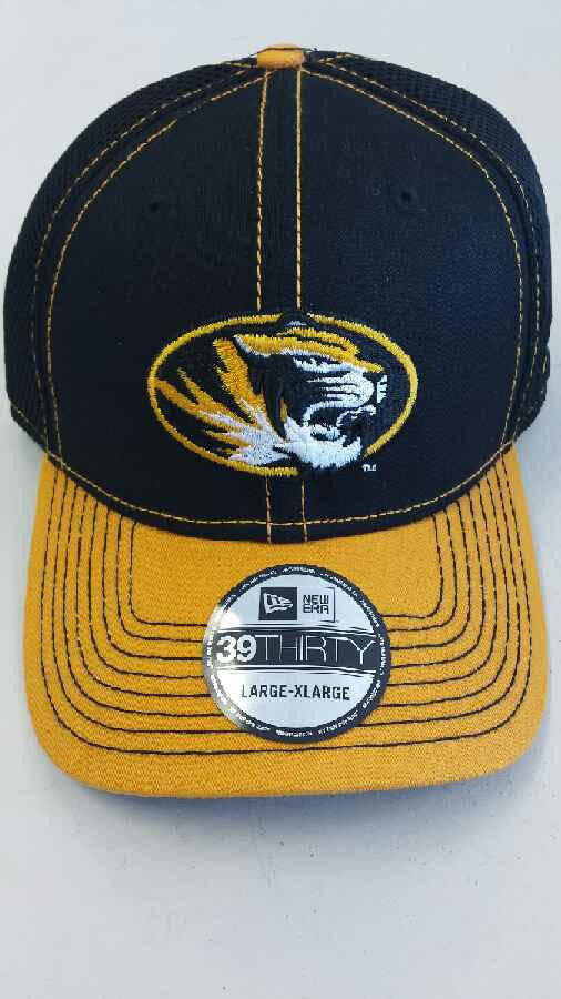 Missouri Tigers 2Tone Neo 39THIRTY Hat by New Era
